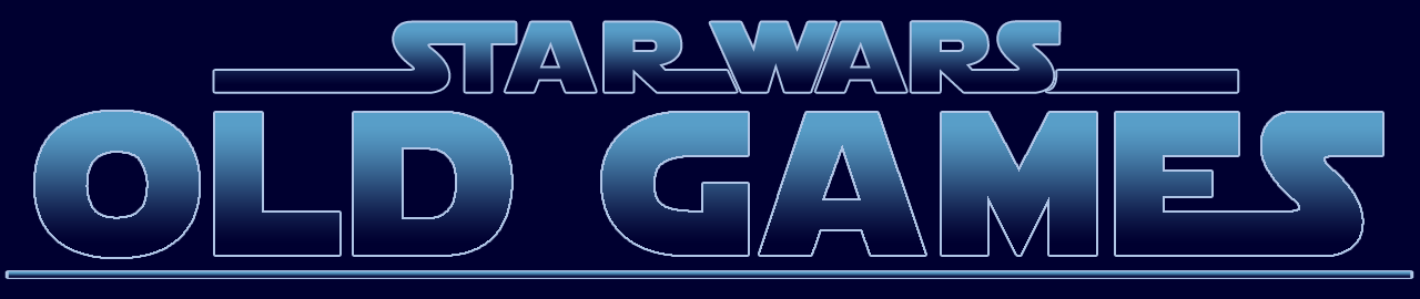 STAR WARS OLD GAMES